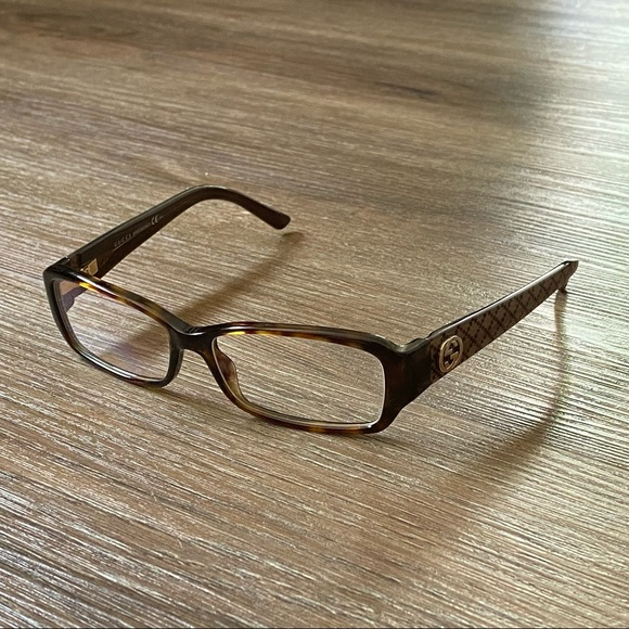 Gucci Glasses GG 3184 URD 130 Brown and Gold